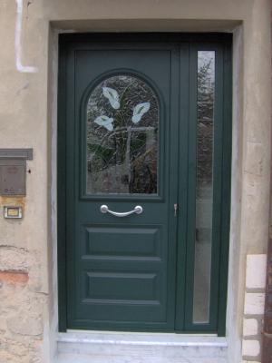 Porta da ingresso - Finestre stile inglese in legno ...